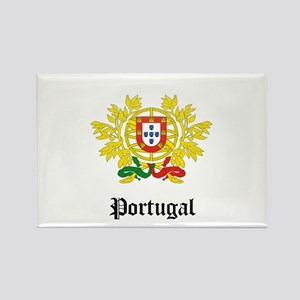 Portuguese Coat of Arms Seal Rectangle Magnet